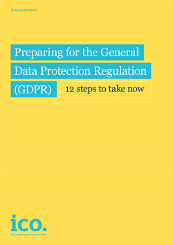 Get ready for the new GDPR.